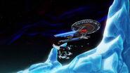 USS Cerritos hits ice