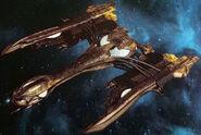 Eaglemoss Klingon bortaS bir Class