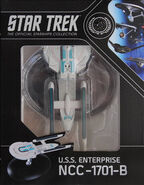 Star Trek Official Starships Collection USS Enterprise-B repack 9