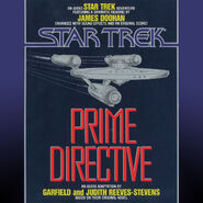 Prime Directive audiobook cover, digital edition