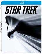 Star Trek 1 disc Blu-ray Region B French Steelbook cover