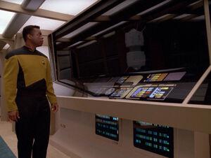 Geordi reflects as interface probe.jpg