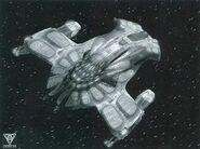 Nihydron warship, CGI final