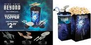 Snapco Star Trek Beyond cup topper promos