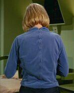 Elizabeth Dehner, backside female variant uniform