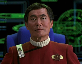 Captain Sulu in 2293