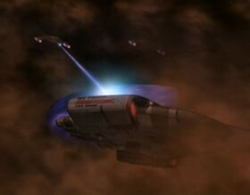 Jem'Hadar fighters attack the Defiant in gas giant.jpg