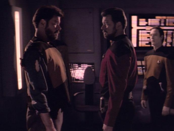 Riker : 2 = ?