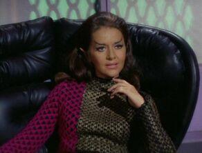 A female Romulan commander in 2268