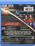 Star Trek VI The Undiscovered Country Blu-ray cover Region A back