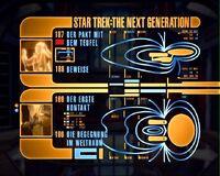 DVD-Menü TNG Staffel 4 Disc 4
