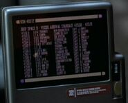 Deep Space 9 - vessel arrival roster 2