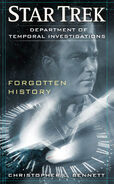 Forgotten History solicitation cover, August 2011