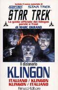 Klingon Dictionary 02, Italian