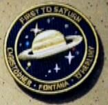 """Insigne de mission """"First to Saturn"""""""