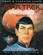 Spock's World audiobook cover, UK cassette edition