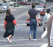 Street passersby 1986 1