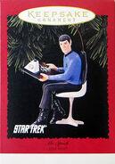 1996 Hallmark Spock
