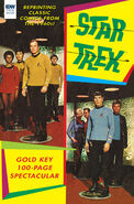 Star Trek 100-Page Spectacular Gold Key cover