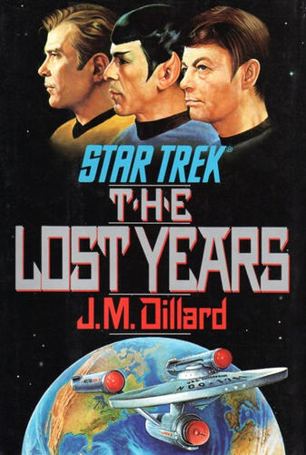 Cover of book 1, The Lost Years