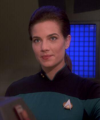 Lieutenant Jadzia Dax (2369)