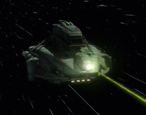 Kago's starship