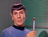 Spock inhabited by Henoch