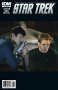 Star Trek - The Official Motion Picture Adaptation issue 6 RI cover