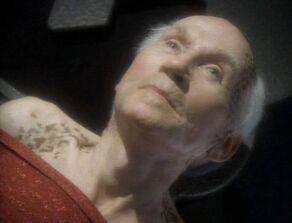 Curzon Dax, a Trill male in 2367