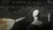 Robert Goddard and Saturn V rocket in ENT MU opening titles