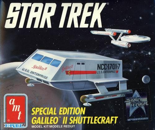 AMT Model kit 6006 Galileo II Shuttlecraft 1991.jpg