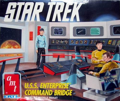 AMT Model kit 6007 USS Enterprise Bridge 1991.jpg