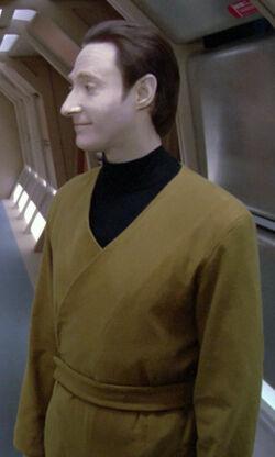 Lore wearing a 2360s utility uniform.jpg
