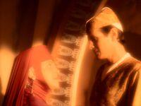 Kai Opaka appears in Bareil's orb experience.