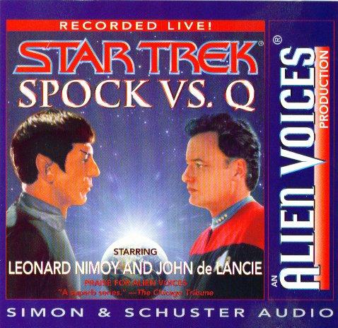 Spock Vs. Q