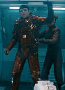 Starfleet thermal protection suit