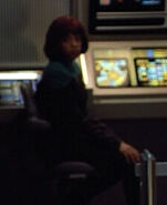 USS Voyager female sciences bridge officer 1, 2374