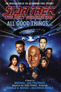 All Good Things novelization cover, hardback edition