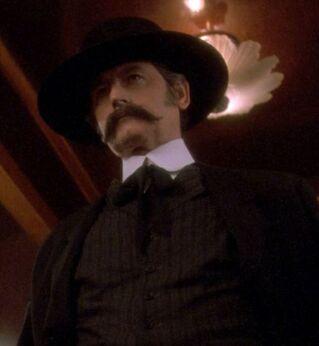 ...as the gunslinger