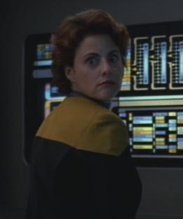 ... as Lieutenant Susan Nicoletti