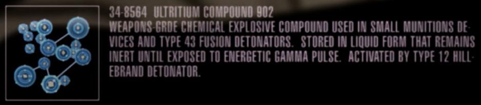 Ultritium compound 902