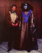 James Mapes and DeForest Kelley