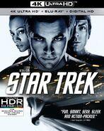 Star Trek 4K UHD US cover