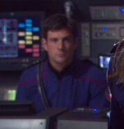 Tactical officer ISS Enterprise