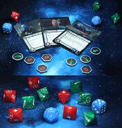 WizKids Star Trek Alliance - Dominion War Campaign game elements