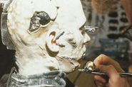 Bradley Look final airbrushing Borg actor