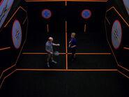 Galaxy class racquetball court