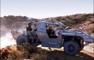 Argo ground vehicle, profile view