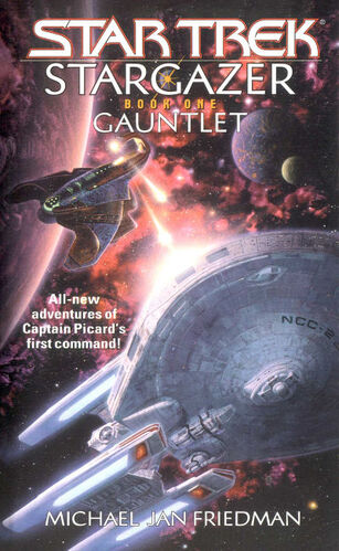 Cover of book 1, Gauntlet