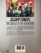 The Worlds of the Federation, 1st edition back cover